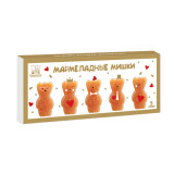 Мармеладные мишки. Натуральный яблочный мармелад (сувенирный), 155г
