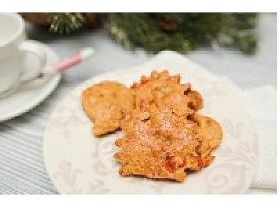 Полезное печенье с имбирем