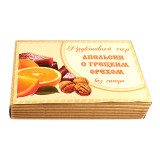 Фруктовый сыр Апельсин с грецким орехом, 250г