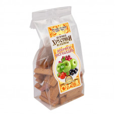 Яблочные хрустики из пастилы Ассорти без сахара, 80г