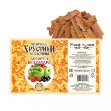 Яблочные хрустики из пастилы Ассорти без сахара, 500г