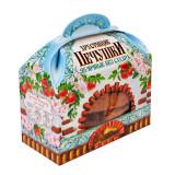 Хрустящие Печушки яблочные без сахара, 50г