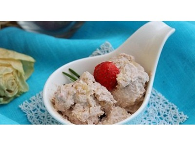 Творожное мороженое
