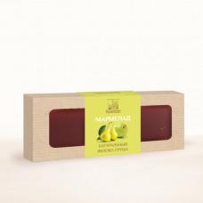 Натуральный мармелад яблоко - груша, 320г