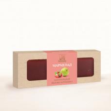 Натуральный мармелад яблоко - клубника, 320 г