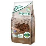 Печенье «Умные сладости» с какао и семенами белого льна 160г