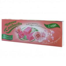"""Конфеты без сахара """"Умные сладости"""" желейные со вкусом лепестков чайной розы 90г"""