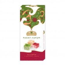 "Рахат-лукум ""Ассорти"" с ароматами вишня, яблоко, абрикос ""Белевские сладости"", 250г"
