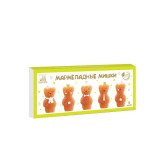 Мармеладные мишки. Натуральный яблочный мармелад, 155г