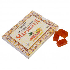 Мармелад натуральный без сахара Морковь-имбирь-лимон, 160г