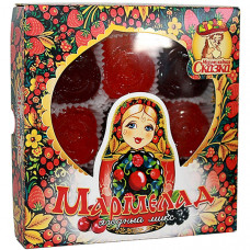 """Мармелад """"Матрёшка"""" в форме розочек """"Ягодный микс"""" (клюква, черника, малина, брусника, черноплодная рябина), 300г"""