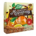Мармелад на фруктозе «С апельсином, лимоном, грейпфрутом», 300г
