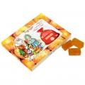 Мармелад натуральный без сахара Апельсин (новогодняя обечайка), 160г