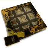 """Полезные конфеты """"Ассорти"""" без сахара (новогодняя мини-открытка), 150г"""