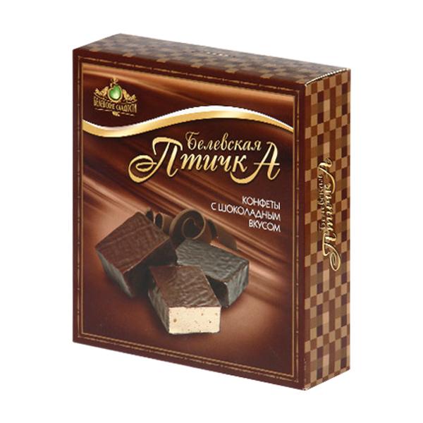 300г конфеты Белевская птичка шоколад