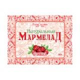 Натуральный мармелад Клюква, 160 г