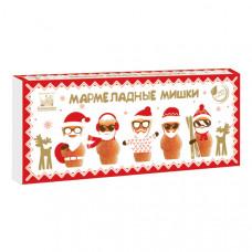 Мармеладные яблочные мишки (новогодняя упаковка), 155г