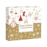 Пастила с ароматом Ванили «Коломчаночка» (новогодняя упаковка), 200г