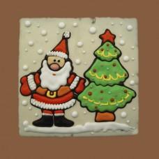 """Пряник """"Дед мороз с ёлкой"""", 700 г-недоступен для самовывоза"""