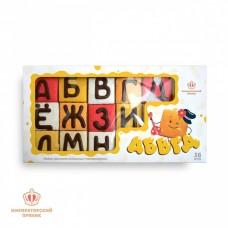 Пряничный детский набор «АБВГДЭЙКА» АБВГД, 600г