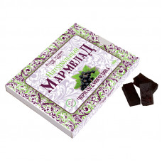 Мармелад натуральный без сахара Черная смородина, 160г
