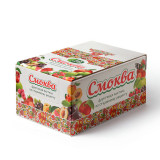Смоква яблочно-абрикосовая, упаковка 30 шт., 900г