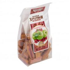 Яблочные хрустики из пастилы с Клюквой, 80г