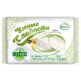 Зефир без глютена и без сахара «Умные сладости» ванильный со стевией 150г