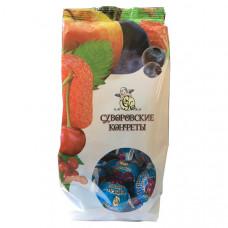 Суворовские конфеты «Чернослив с орехом в йогурте», 220г