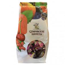 Суворовские конфеты «Витаминный коктейль с черной смородиной», 220г